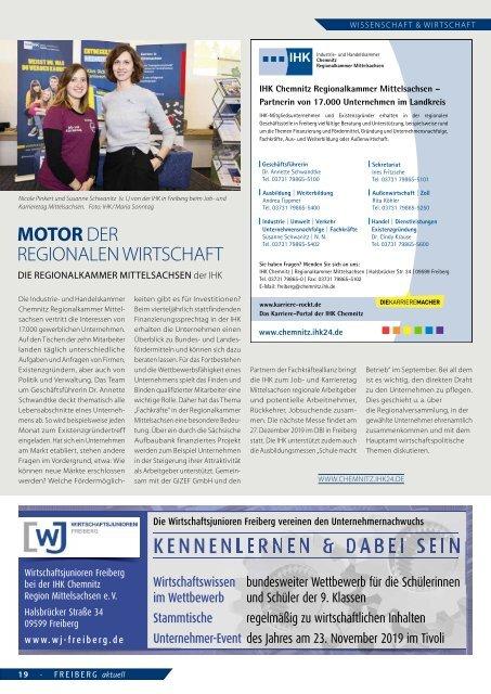 Freiberg aktuell 2019