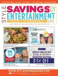 Style Savings & Entertainment Guide: June 2019