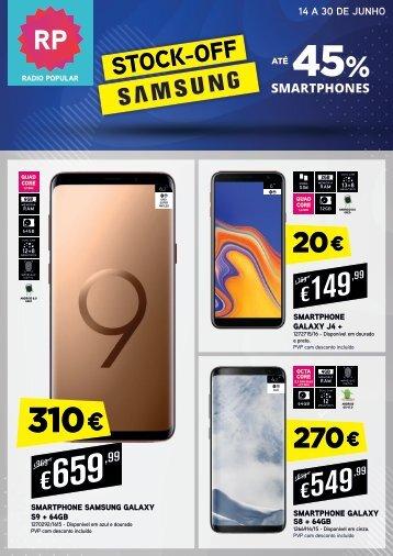 CAMPANHA STOCK OFF Samsung