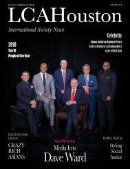 LCAHouston Magazine Winter 2018