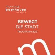 Programmfolder moving beethoven | md 2019/20