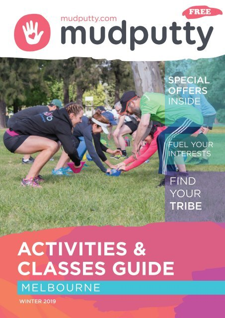 Melbourne Activities and Classes Magazine  Winter 2019