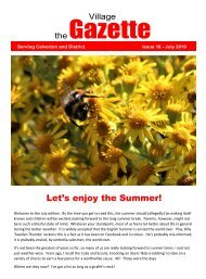 The Village Gazette - July Edition