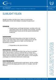 Anleitung Slimlight Leuchtfolie