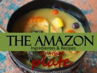 Amazon on the plate
