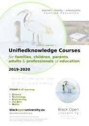 Black Open University (BOU) Prospectus 2019-2020