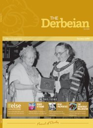 The Derbeian Magazine Summer 2019 Edition
