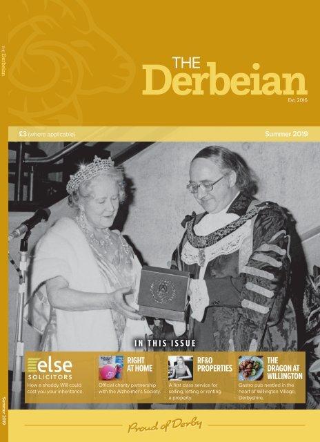 The Derbeian Magazine Summer 2019 Edition
