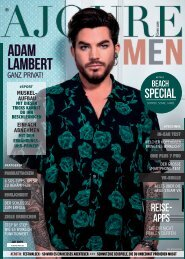 AJOURE´ Men Magazin Juli 2019