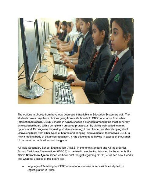 CBSE_Schools_in_Ajman