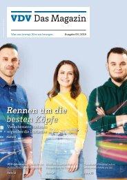 VDV Das Magazin Ausgabe 3/2019