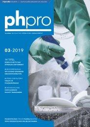 phpro – Prozesstechnik für die Pharmaindustrie 03.2019