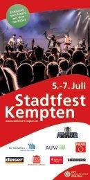 Stadtfest Kempten 2019