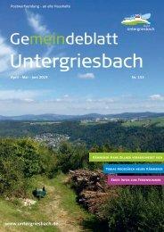 Gemeindeblatt Untergriesbach153