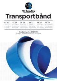 Transportbånd - Produktkatalog 2019 - FEC Consulting