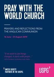 USPG Pray with the World Church