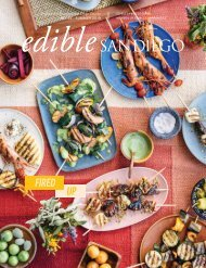 Edible San Diego Issue #54 Summer 2019
