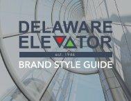 Delaware Elevator Brand Style Guide