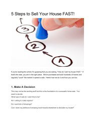 5 Steps to Sell Your House FAST