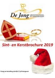 Brochure De Jong Sint_kerst 2019