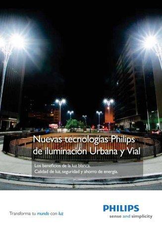Nuevas tecnologías Philips de iluminación Urbana y Vial