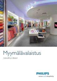 Myymälävalaistus - Philips Valaistus