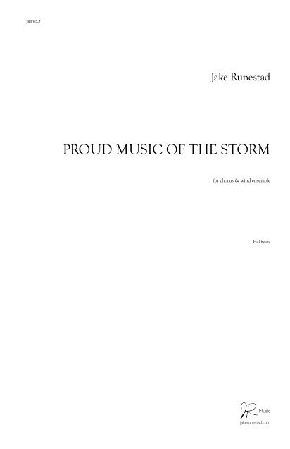 Proud Music of the Storm | Jake Runestad