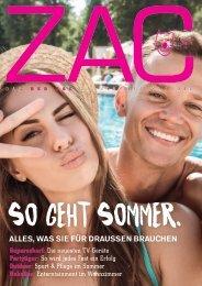 ZAC Magazin Sommer 2018