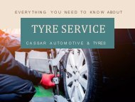 Everything you need to know about tyre service