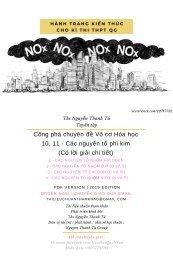 Công phá chuyên đề Vô cơ Hóa học 10, 11 - Các nguyên tố phi kim (Có lời giải chi tiết)