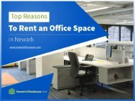 Reasons to Choose Commercial Office Space for Rent in Newark