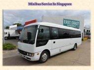 Minibus Service In Singapore