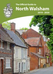The Official Guide to North Walsham 2019 - 2020
