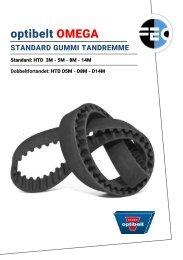 Produktkatalog - Optibelt Omega - Standard HTD tandremme