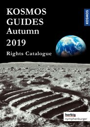 KOSMOS Guides Autumn 2019 - Rights Catalogue