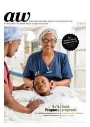 Gute Prognose - Ein Heft über das afrikanische Gesundheitswesen / Good prognosis - An issue on the healthcare sector in Africa