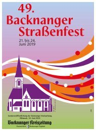 BKZ-Strassenfest
