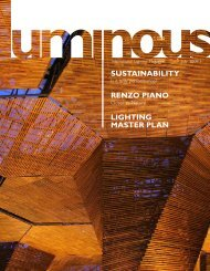 sustainability renzo piano lighting master plan - Philips Lighting