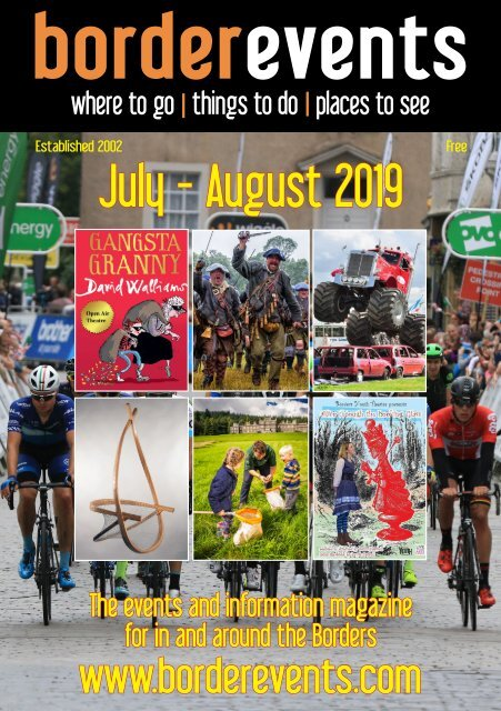 borderevents July-August magazine