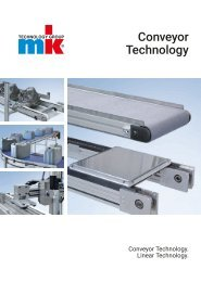 MK Conveyor Technology - Båndtransportører fra FEC Consulting
