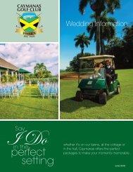 Wedding Information-June 2019