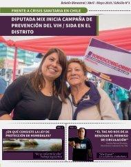 Boletín Claudia Mix - Abril/Mayo 2019 (Zona Sur del Distrito)