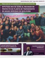 Boletín Claudia Mix - Abril/Mayo 2019 (Zona Norte del Distrito)