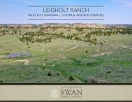 Leidholt Ranch Offering Brochure
