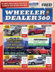 Wheeler Dealer 360 Issue 25, 2019