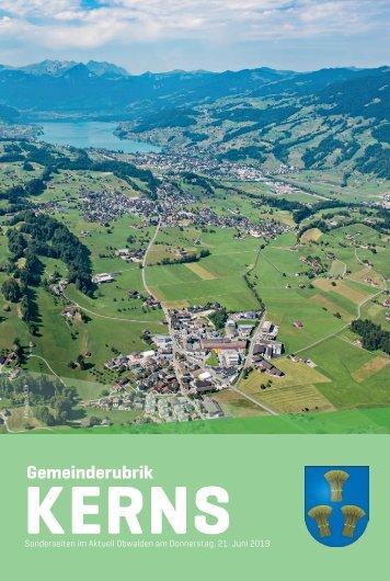 Gemeinde Kerns 2019-25