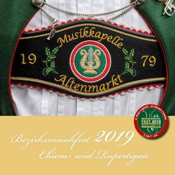 Festschrift Musikverein Altenmarkt 2019