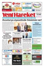 Yeni Hareket Gazetesi Haziran 2019 (Neue Bewegungszeitung Juni 2019)