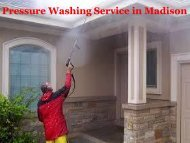 Pressure Washing Madison