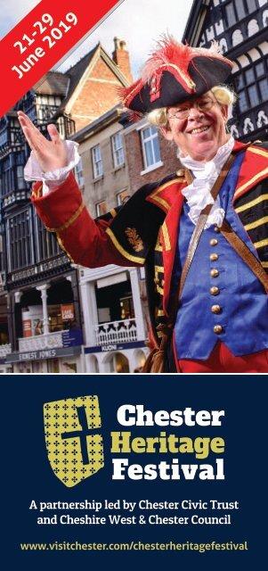 Chester Heritage Festival leaflet 2019
